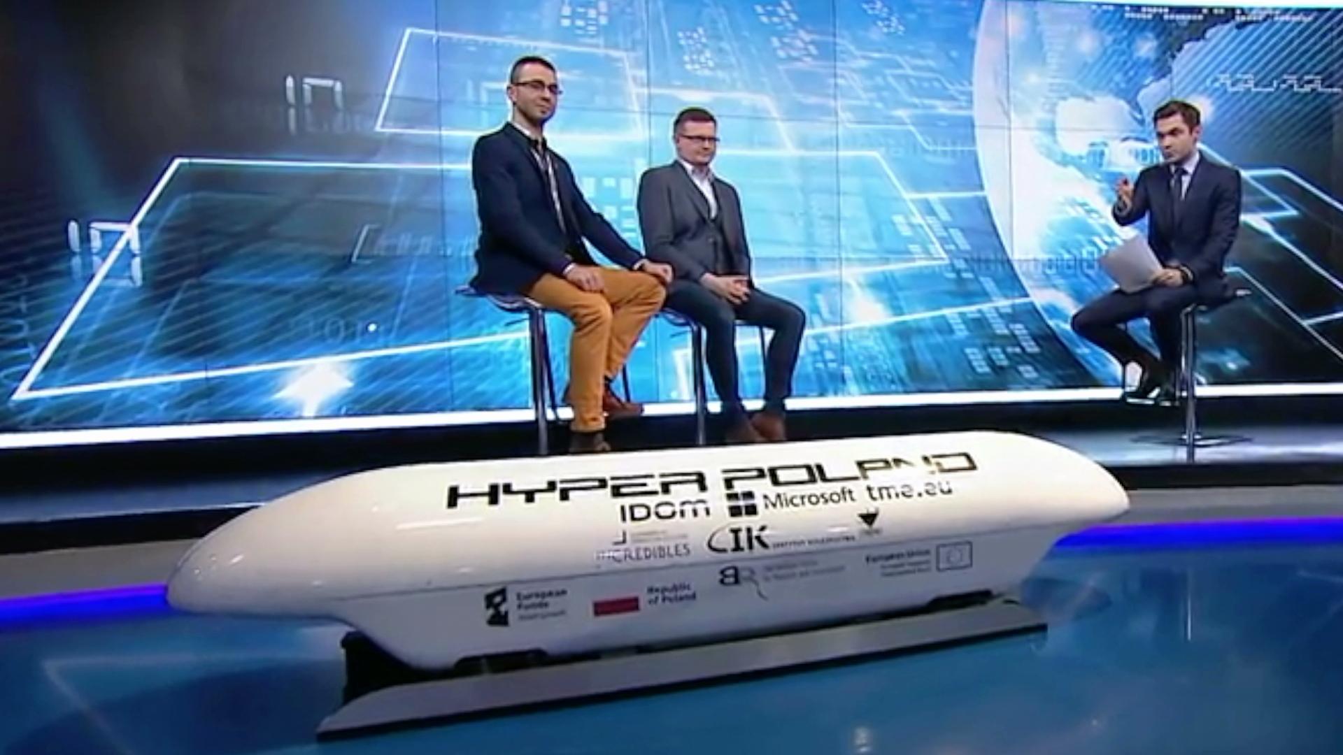 Polski pociąg przyszłości, czyli hyperloop na torach